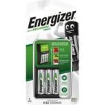 Energizer Ladegerät Maxi Charger Nr. 635043 inkl. 4x Akku AA