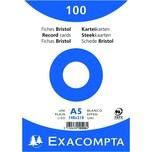 ExacomPTA Karteikarte A5 blanko weiß Nr. 10508E PA 100 Stück