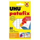 Uhu Patafix Klebepads weiß lösungsmittelfrei Nr. 48810. PA= 80Stk.. 10x12mm