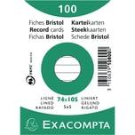 ExacomPTA Karteikarte A7 liniert weiß Nr. 10800SE PA 100 Stück