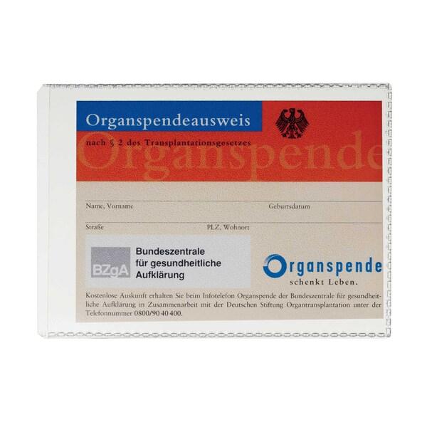 Durable Ausweishülle transparent A7 Nr. 2134-19 74 x 105 mm