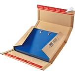 ColomPac Ordnerversandbox 35-80mm braun Nr. CP055.01 32x29x8cm Wellpappe