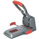 Rapid Locher HDC150 Heavy Duty Duax Nr. 23000600. 150 Blatt. silber/orange