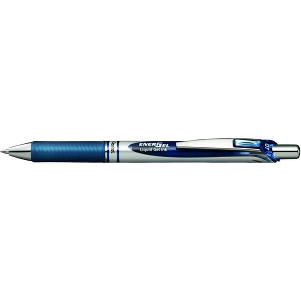 Pentel Gelroller EnerGel Druckmechanik Nr. BL77-CAX 035mm nachtblau