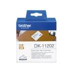 Brother Versand-Etiketten DK11202 weiß PA 300St. Rolle 62 x 100mm