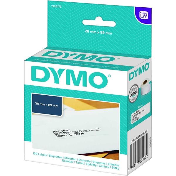 Dymo Adressetikett 1983172 weiß PA 260 Etiketten/Rolle 36x89mm
