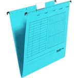 Falken Hängemappe seitlich offen blau Nr. 11287760 PA 5 Stück 230g/m²