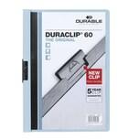 Durable Klemmmappe DURACLIP A4 blau Nr. 2209-06 Füllhöhe 60Bl mit Deckblatt
