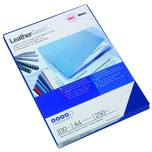 GBC Einbanddeckel LeatherGrain A4 Nr. CE040020 A4 blau PA100St
