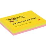 Post-it Haftnotiz Meeting Notes 101x152mm farbig sortiert Nr. 6445-3SS-EU. 3 Block à 45Blatt