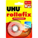 Uhu Klebefilm rollafix 36965 19mmx25m Nr. 36965 transparent mit Abroller