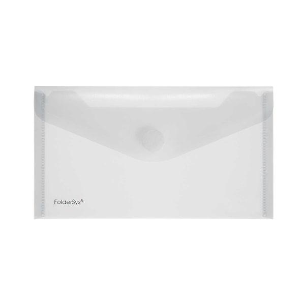 FolderSys Sichttasche DL PP glänzend Nr. 40103-04 PA 10St Klettverschluss