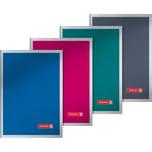 BRUNNEN Schulheft A6 kariert Premium extra starker Umschlag Nr. 104647203. 40 Blatt
