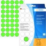 Herma Markierungspunkt 19mm grün Nr. 2255 PA 1.280 Stück