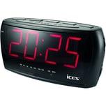 Lenco Uhrenradio Ices ICR-230-1 2007981 FM Display sw
