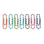 Alco Büroklammer 26mm farbig gestreift Nr. 2256-26 PA100St. Kunststoffbezug