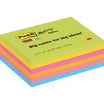 Post-it Haftnotiz Meeting Notes 203x152mm farbig sortiert Nr. 8645-6SS-EU. 6 Block à 45 Blatt
