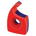 Tesa Handabroller Easy Cut rot/blau Nr. 57944-01 bis 19mm x 33m ungefüllt