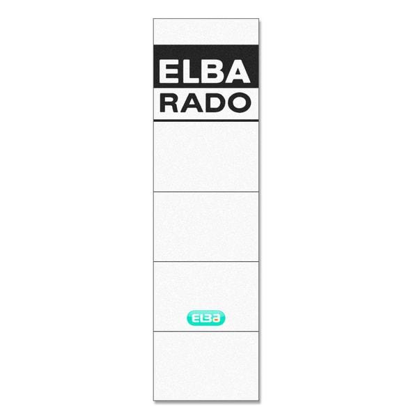 Elba Einsteck-Rückenschild breitl/kurz 100420960 PA 10St handbeschreibbar