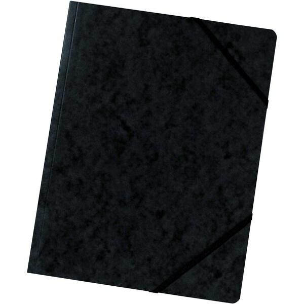 Falken Eckspanner Colorspan A4 schwarz Nr. 11286705 355g/m² ohne Klappen