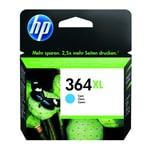 HP Tintenpatrone CB323EE#BA1 Nr.. 364XL für PS D5460 6 ml cyan