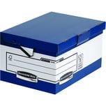 Bankers Box Archivbox Ergo Box System Maxi Nr. 0048901 blau/weiß