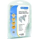 Rapesco Heftklammern Multi Pack 923 Nr. 1246 PA 4 x 800Stk verzinkt