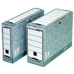 Fellowes Archivbox Bankers Box System Nr. 1080001 8x26x315cm grau/weiß