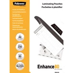 Fellowes Laminierfolie Enhance A4 80mic Nr. 5312903 PA 250St glänzend