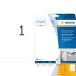 Herma Folien-Etikett Nr. 4866 weiß PA= 10Stk . 210x297mm. wetterfest