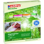 Edding 24 Textmarker Highlighter 4-er VE EcoLine 24 ca.2-5 mm farblich sortiert