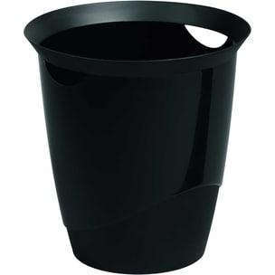 Durable Papierkorb Trend schwarz 16 L Nr. 1701710060 Ø 315cm