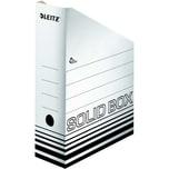 Leitz Archiv-Stehsammler Solid 100mm Nr. 4607-01 10 x 32 x 26cm weiß