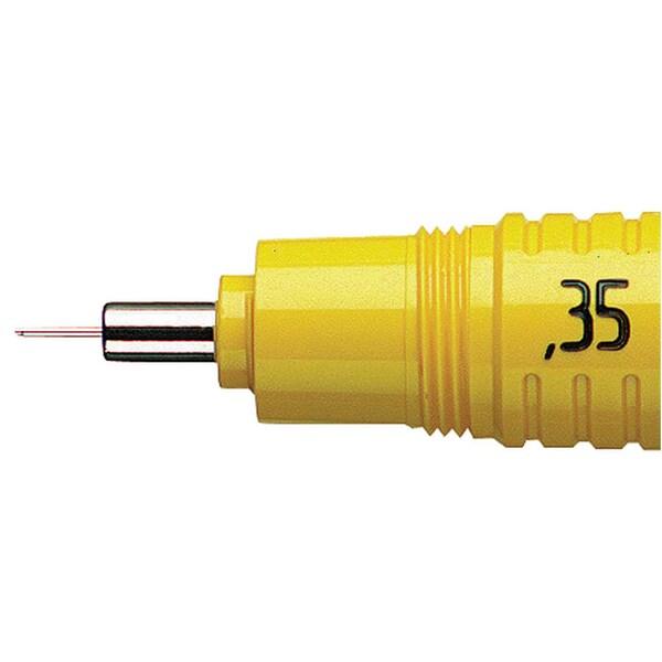 Rotring Zeichenkegel rapidograph Nr. S0219430 gelb 035 mm
