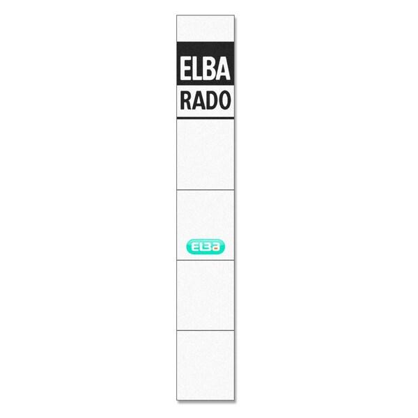 Elba Einsteck-Rückenschild schmal/kurz 100420961 PA 10St handbeschreibbar