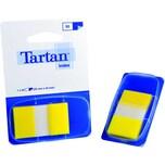 3M Tartan Haftstreifen Index 25 x 43mm Nr. 6805-5EU gelb 50 Blatt