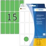 Herma Etikett 20x50mm grün Nr. 2415. PA= 480Stk.