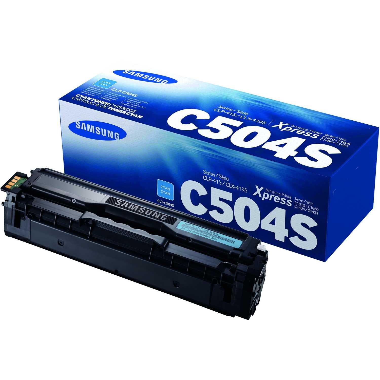 Original Samsung Toner cyan ca. 1.800 Seiten SU025A / CLT C504S