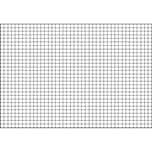 BRUNNEN Karteikarte A7 quer kariert weiß Nr. 102270200. PA= 100Stk . 180g