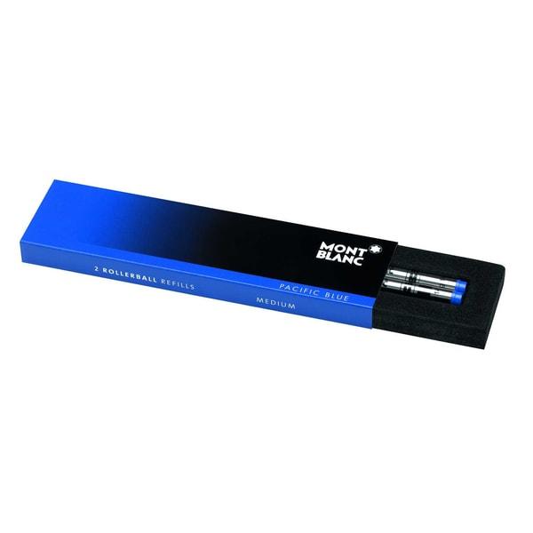 Montblanc Tintenrollermine Pacific Blue Nr. 105159 blau M PA 2Stk