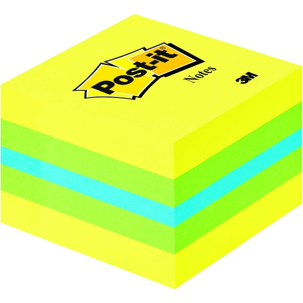 Post-it Haftnotiz 51x51mm limone mini Nr. 2051-L Würfel à 400 Blatt