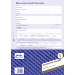 Zweckform Mietvertrag A4 4-seitig Nr. 2849. Neue Hausordnung