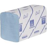 Scott Papierhandtücher Interfold 20x31.5cm blau 1-lagig Nr. 6682. PA= 15x 240 Blatt