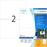 Herma Outdoor-Etiketten Nr. 9541 weiß PA 80 Stk 210x148mm Folie bedruckbar