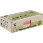Soennecken Haftnotiz oeco 75x75mm Recycling farbig sortiert Nr. 5873. 2 Block à 400 Blatt
