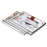 Durable Sichtbuch Duralook Plus A4 Nr. 2434-01 25mm 40 Hüllen PP schwarz