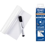 Legamaster Flipchartfolie Magic Chart Nr. 7-159100 A4 blanko PA 25Stück