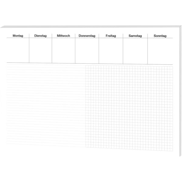 RNK Schreibunterlage Office lin/kar. Nr. 46632 48x33cm Papier 30Blatt