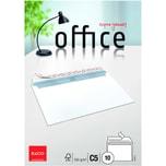 """Elco Briefumschlag Office C5 haftklebend PA 10St hochweiß ohne Fenster 100g/m"""""""