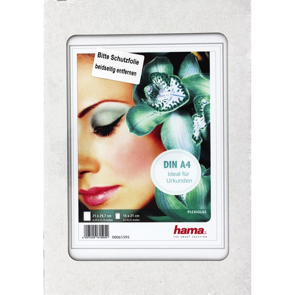Hama Bilderrahmen Clip-Fix 00061595 21X297Cm Rahmenlos Transparent